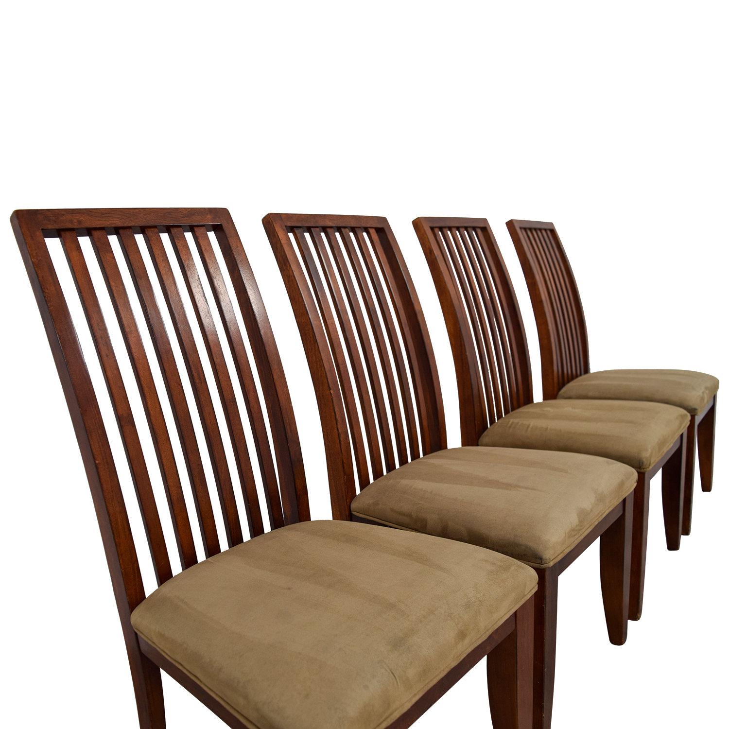 Macy's Macy's Tan Upholstered Dining Chairs / Chairs