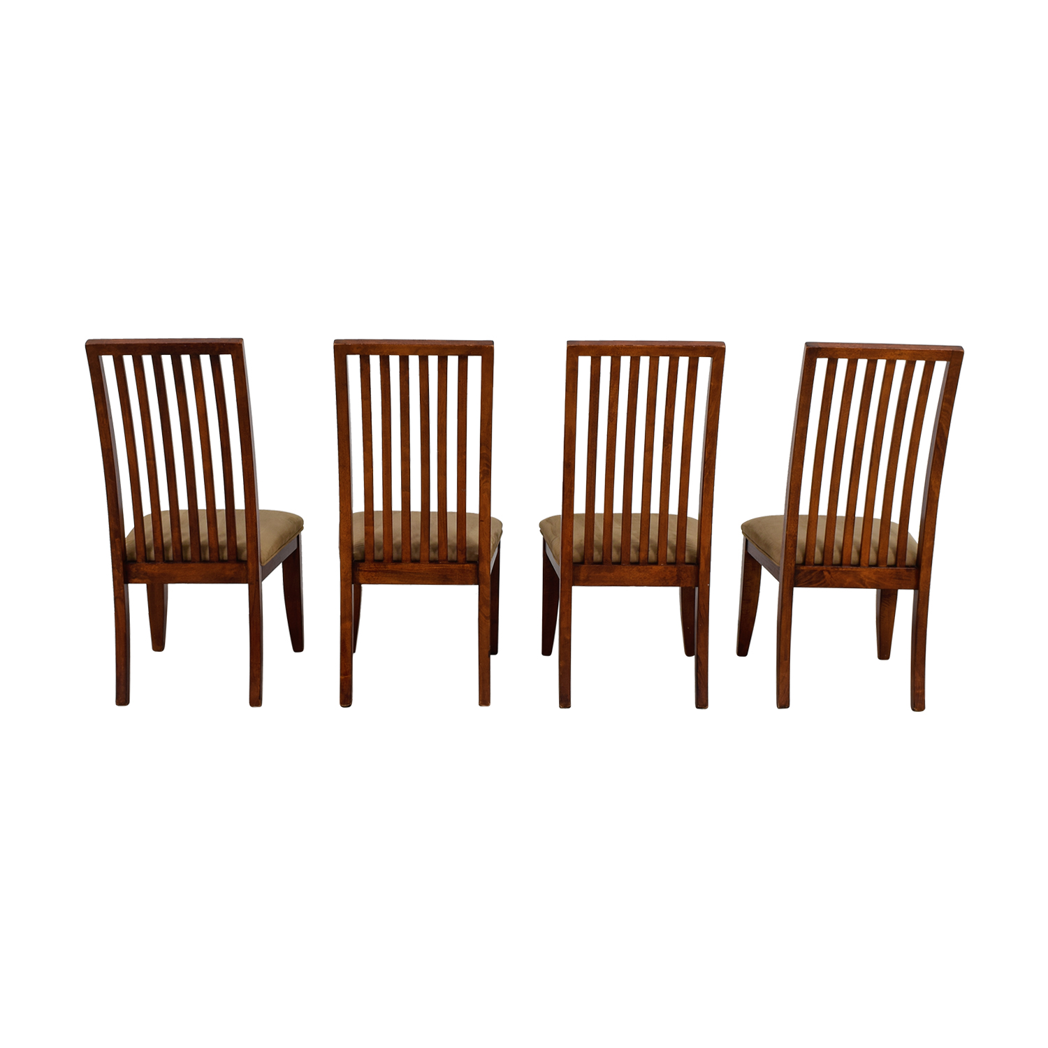 Macys Macys Tan Upholstered Dining Chairs dimensions