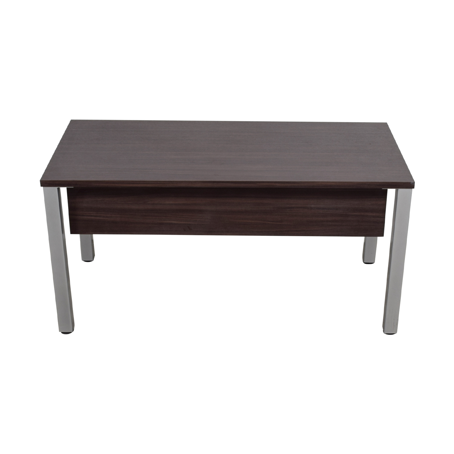 buy Wood and Chrome Office Desk