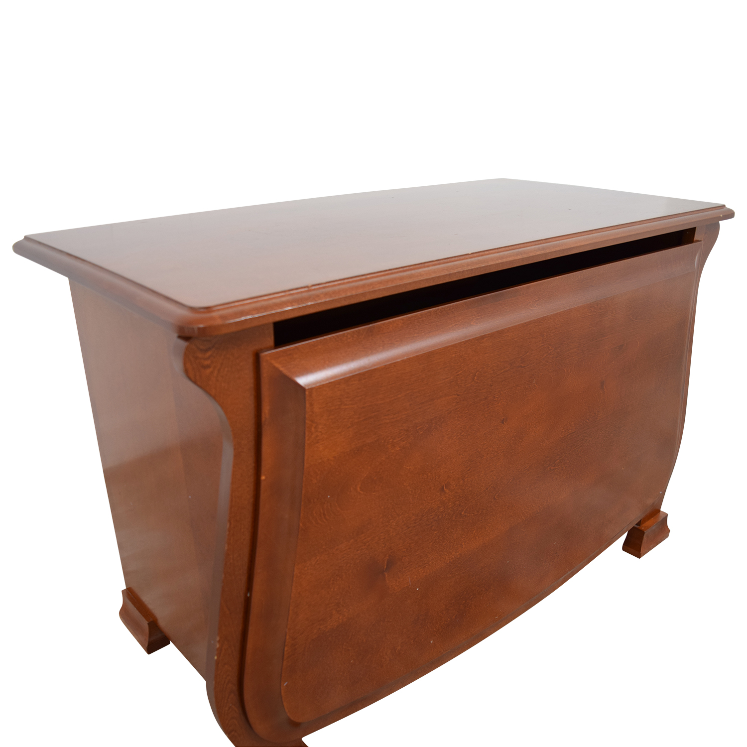 76 Off Pottery Barn Pottery Barn Wood Toy Chest Storage