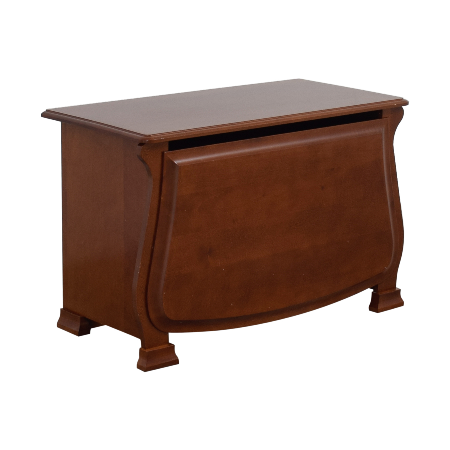 Pottery Barn Wood Toy Chest sale