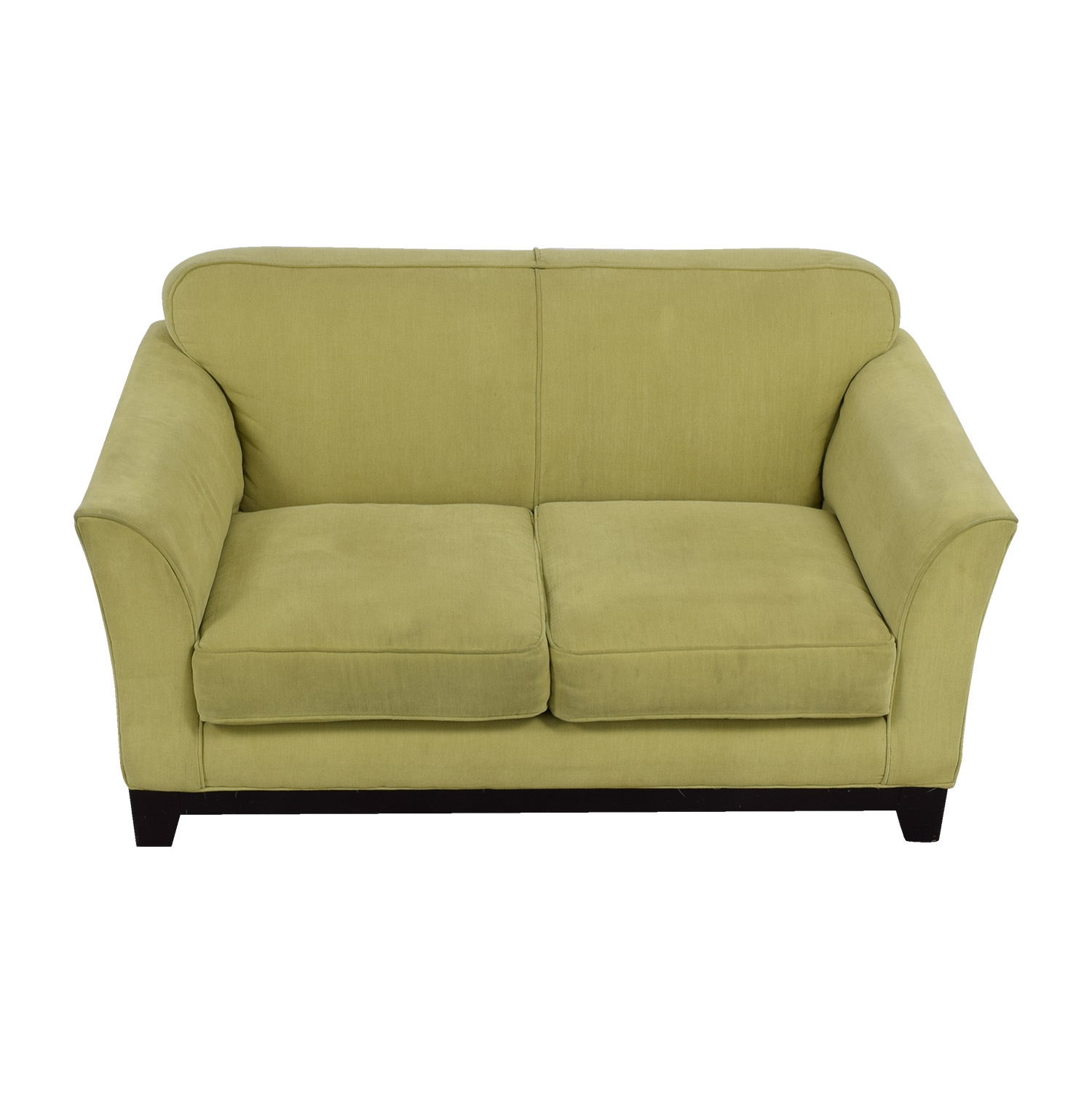 Moda Chartreuse Green Two-Cushion Loveseat sale