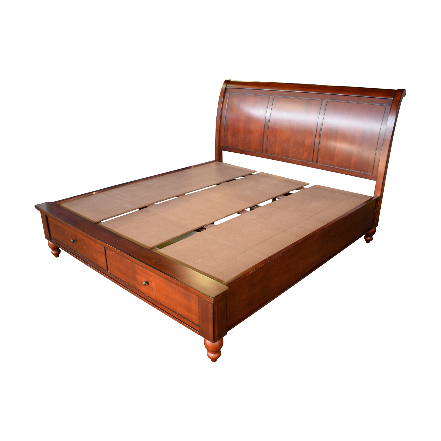 66 Off Aspenhome Aspen Home Cambridge King Sleigh Bed Frame With Storage Beds