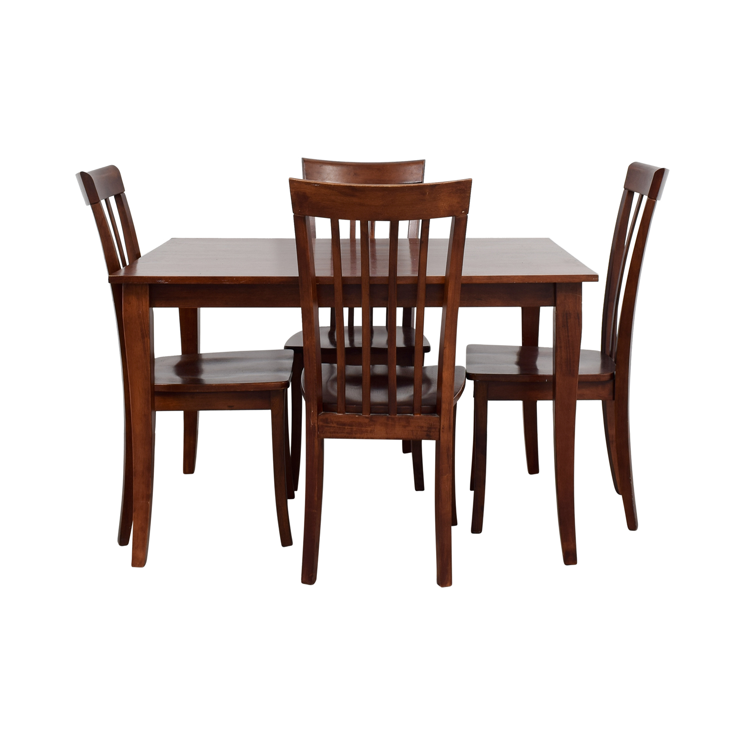 Wooden Dining Set ~ Wood dining table and chairs set