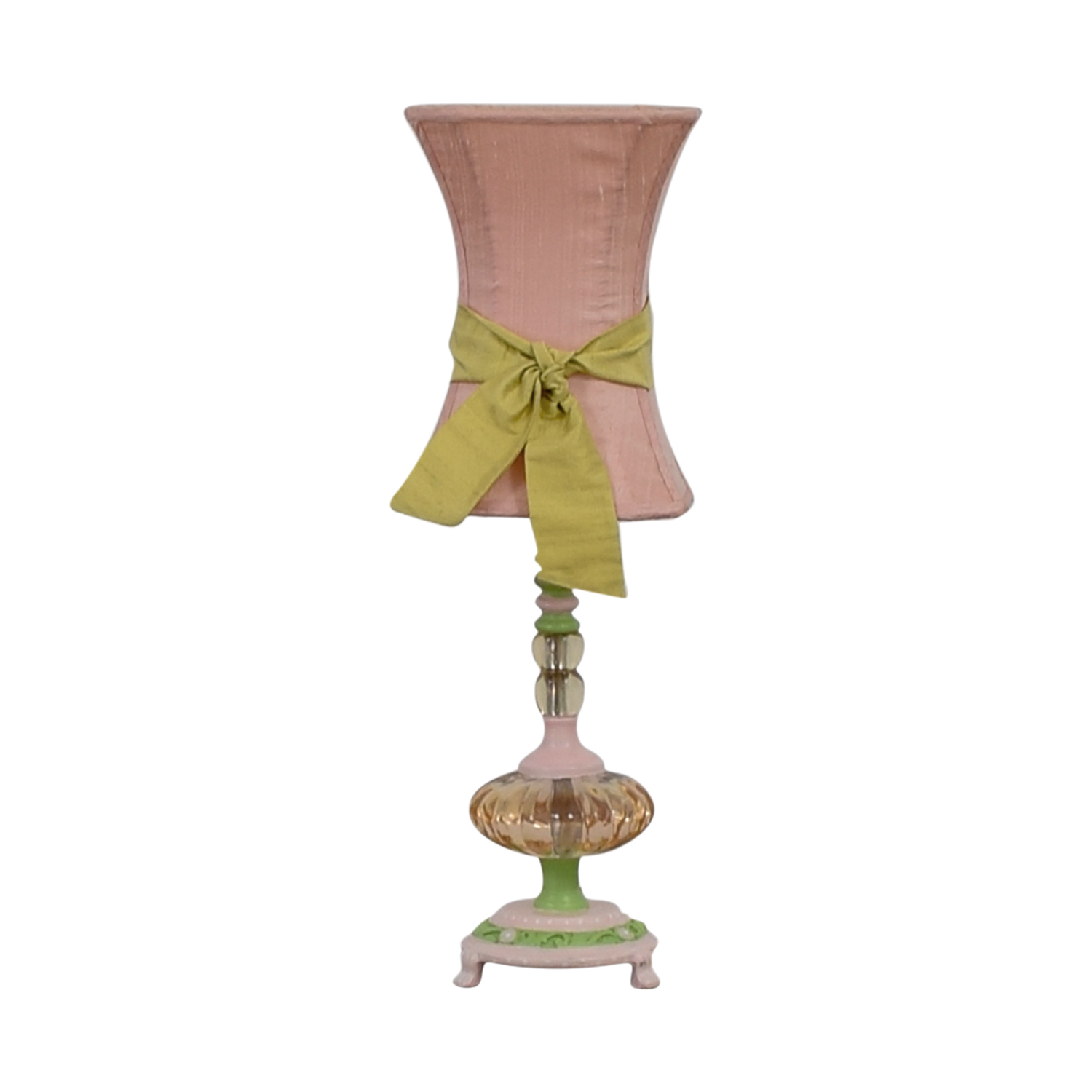 shop  Pink and Green Table Lamp online