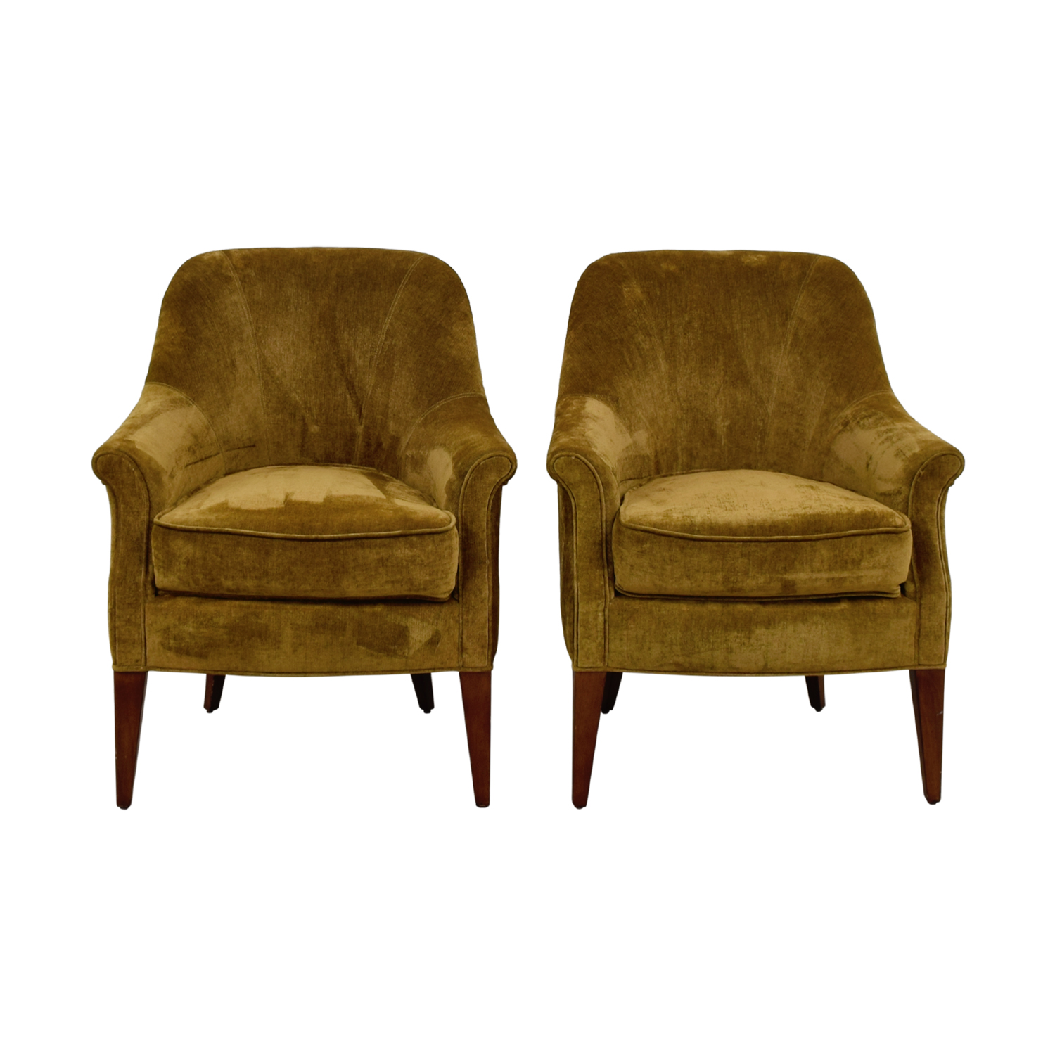Pier 1 Imports Brown Upholstered Accent Chairs / Chairs ...