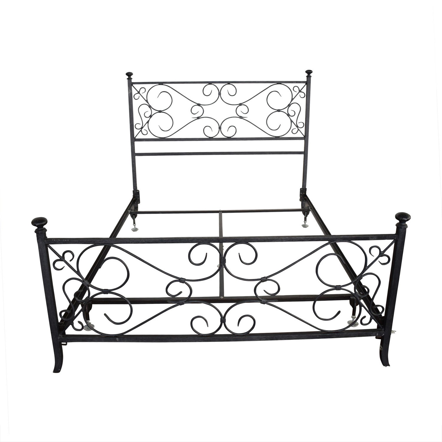 Pottery Barn Pottery Barn Wrought Iron Queen Bedframe on sale