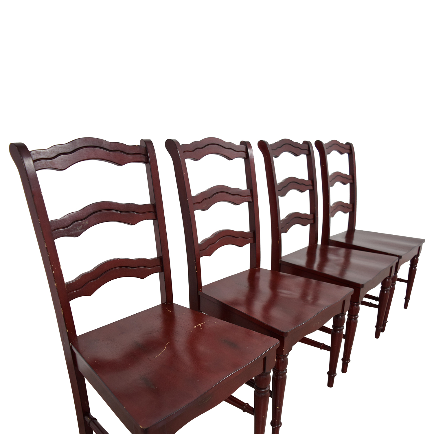 Off Pier Imports Wood Chairs