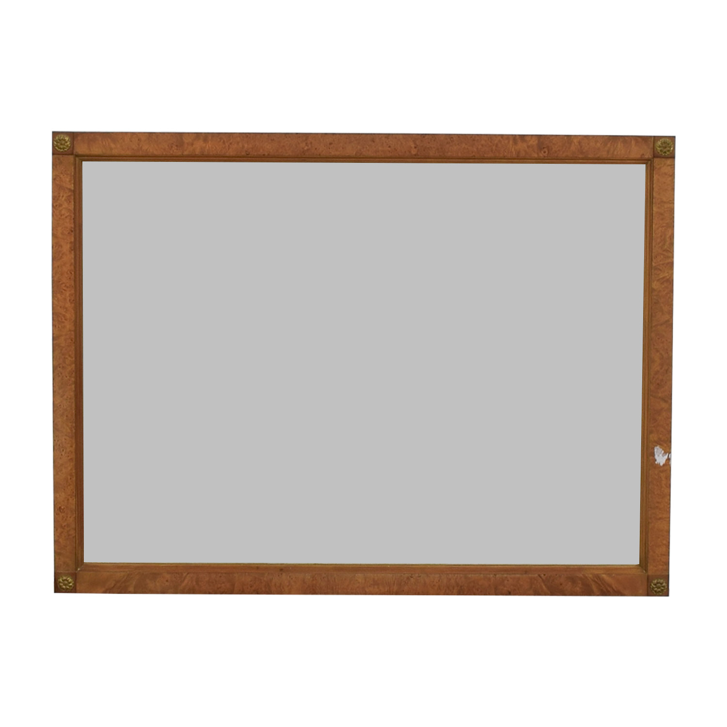 Carmel Frame with Medallion Corner Mirror nj