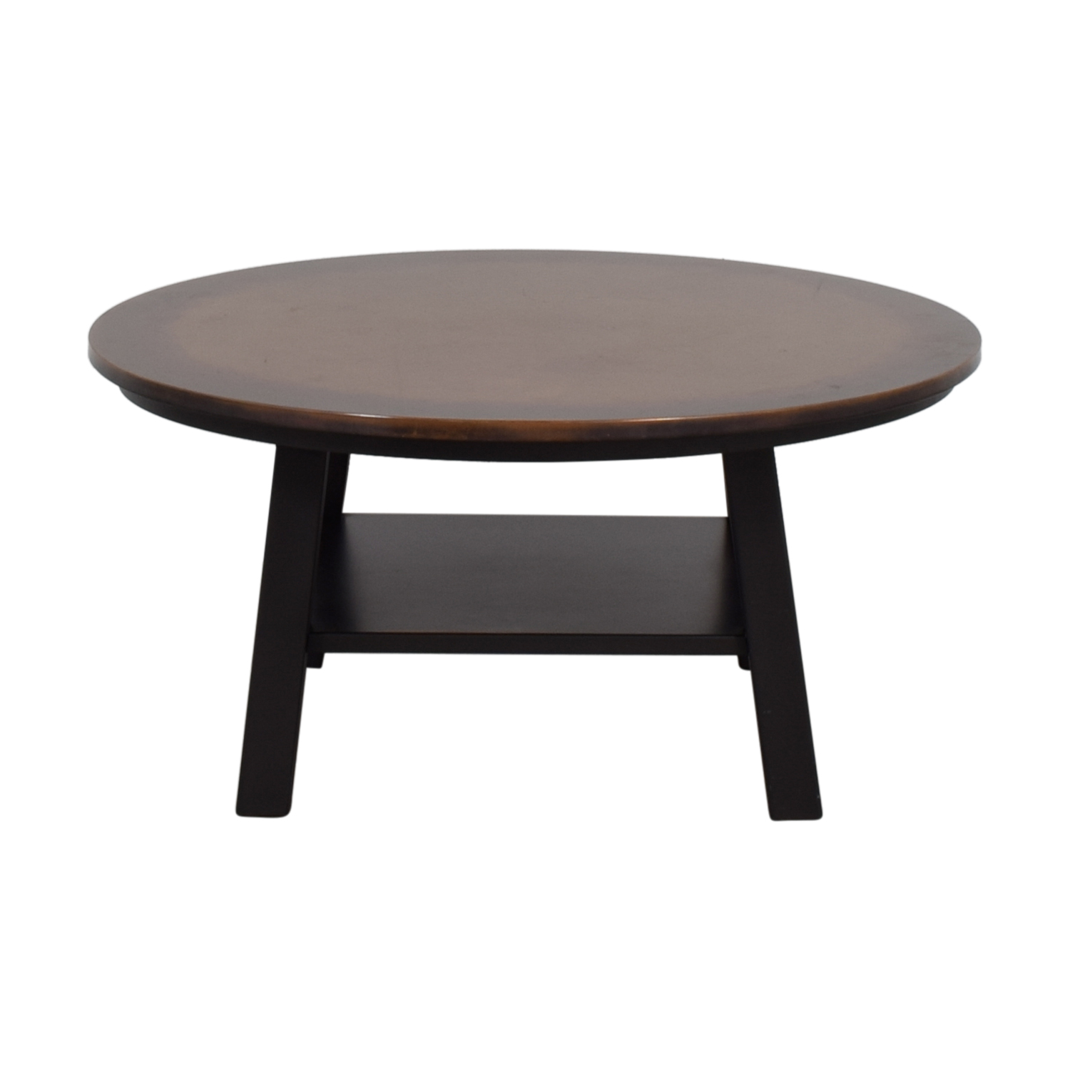 Round Copper Top Coffee Table coupon