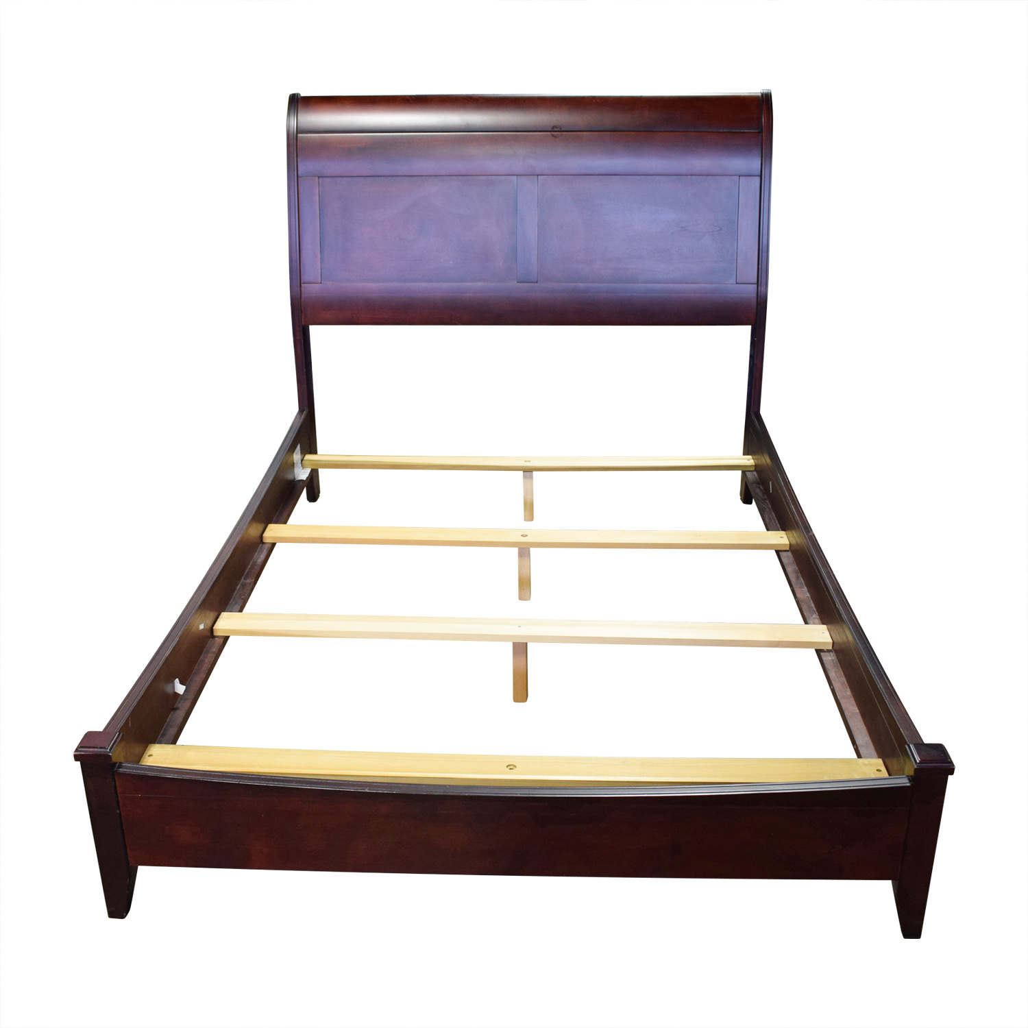 Cresent Furniture Wood Full Sleigh Bed sale