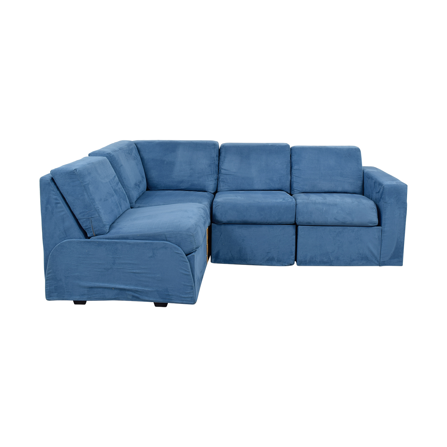 Home Reserve Home Reserve Ray Blue Tux Arm Sectional coupon
