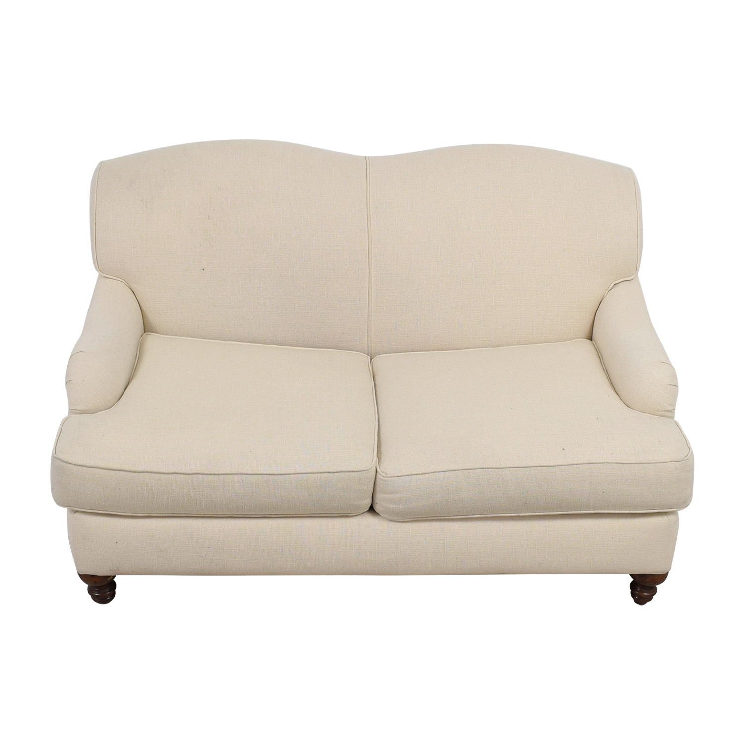 Bob Mills Furniture Cream Love Seat / Sofas