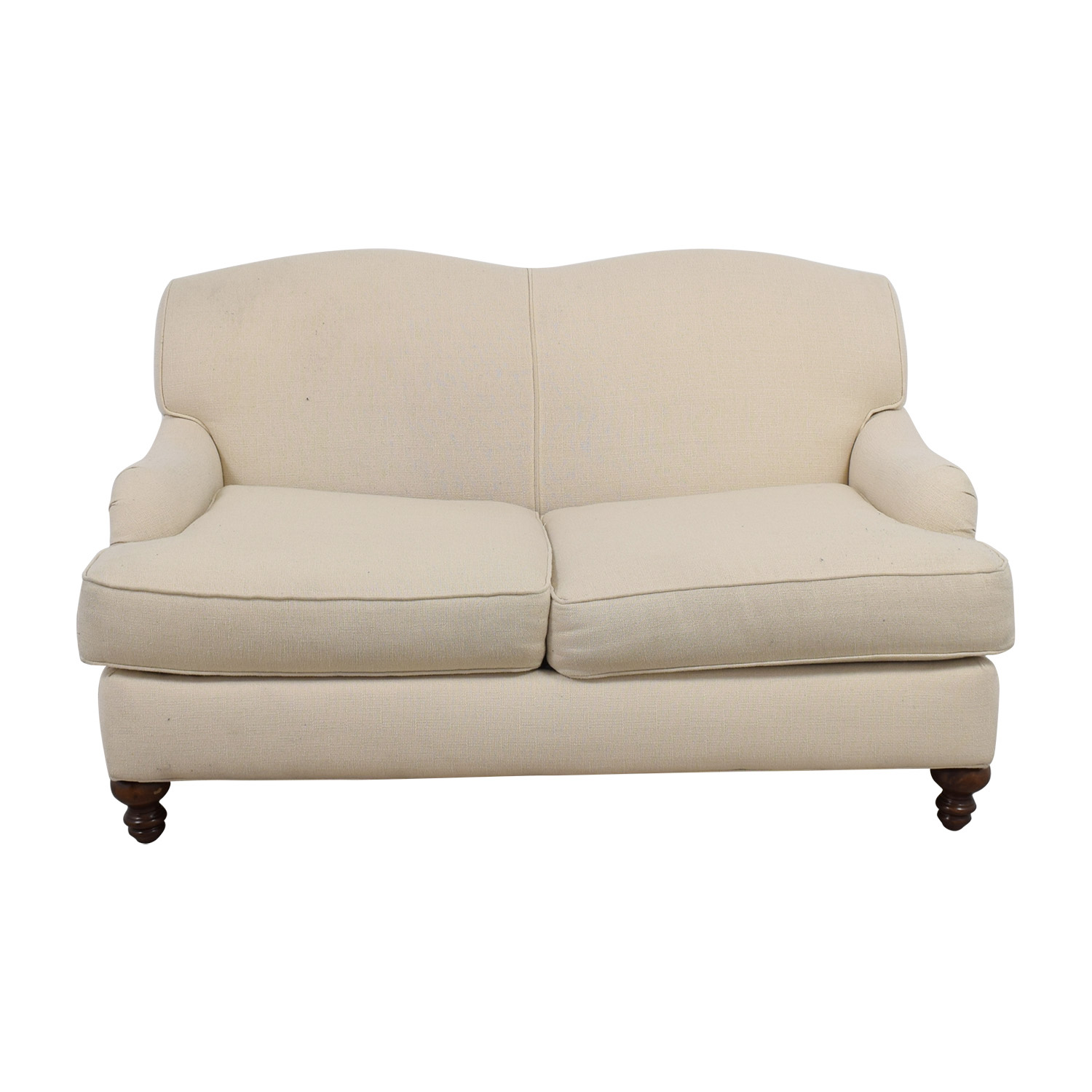Bob Mills Furniture Bob Mills Furniture Cream Love Seat for sale