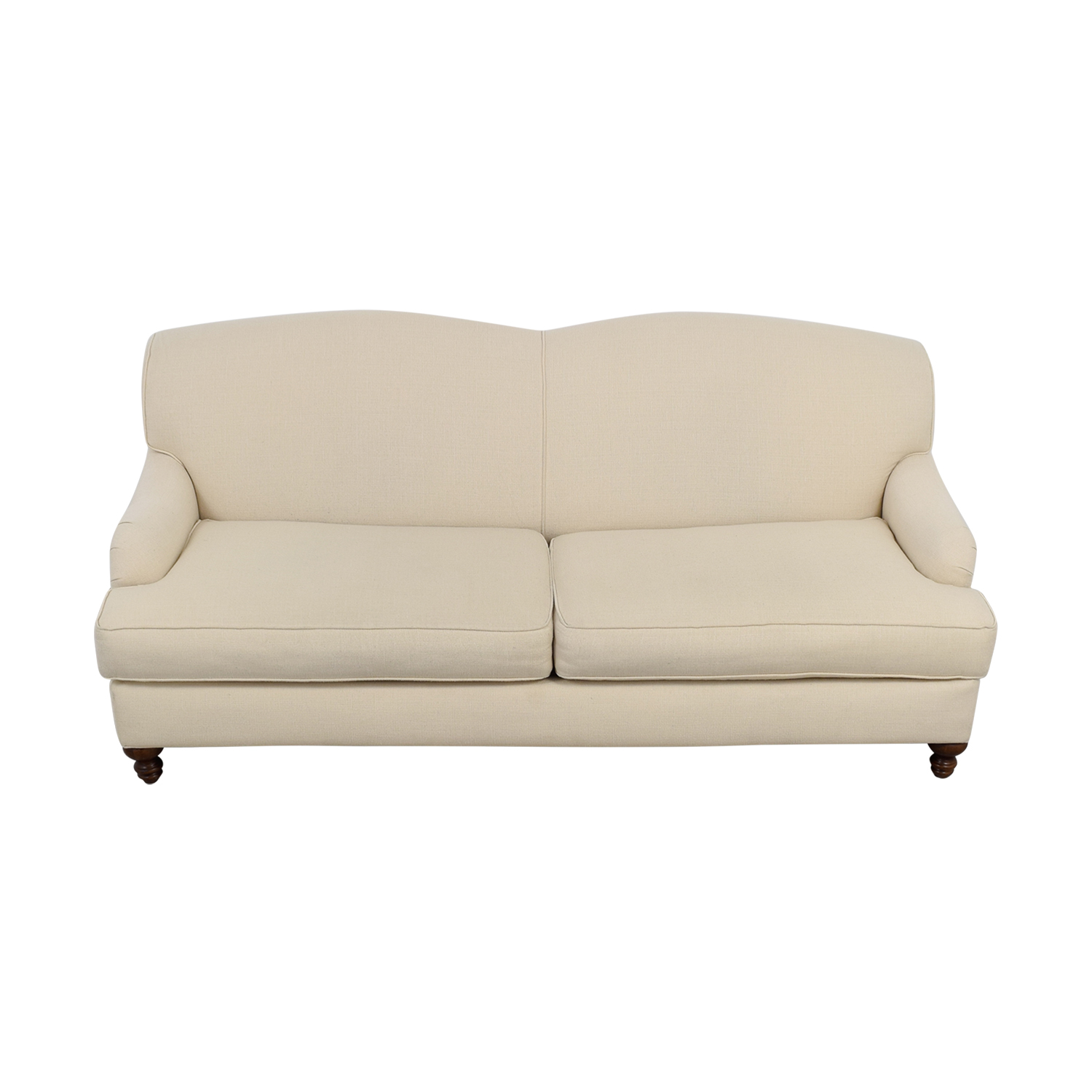 Bob Mills Furniture Bob Mills Furniture Cream Two-Cushion Sofa coupon