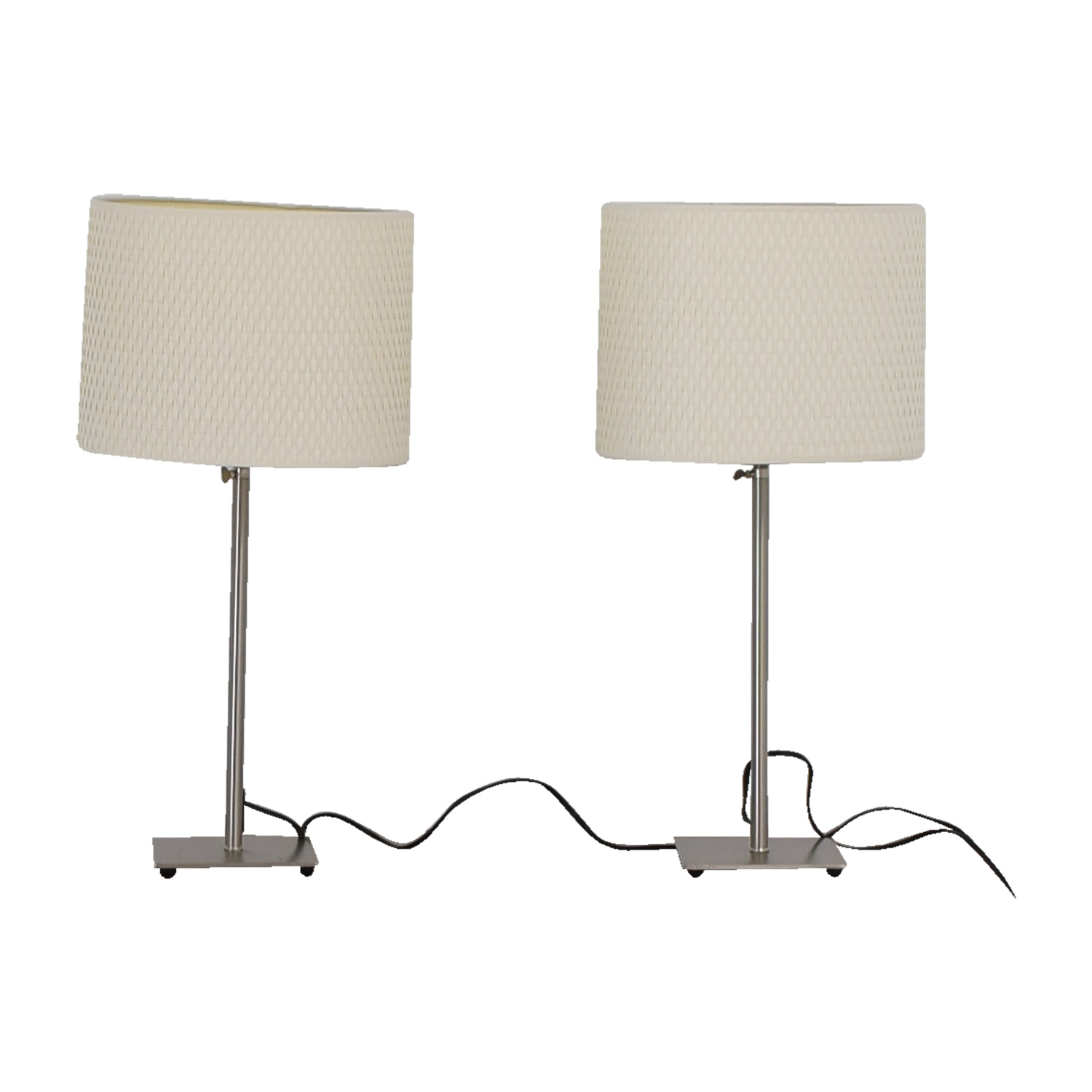 IKEA IKEA Chrome Adjustable Table Lamps