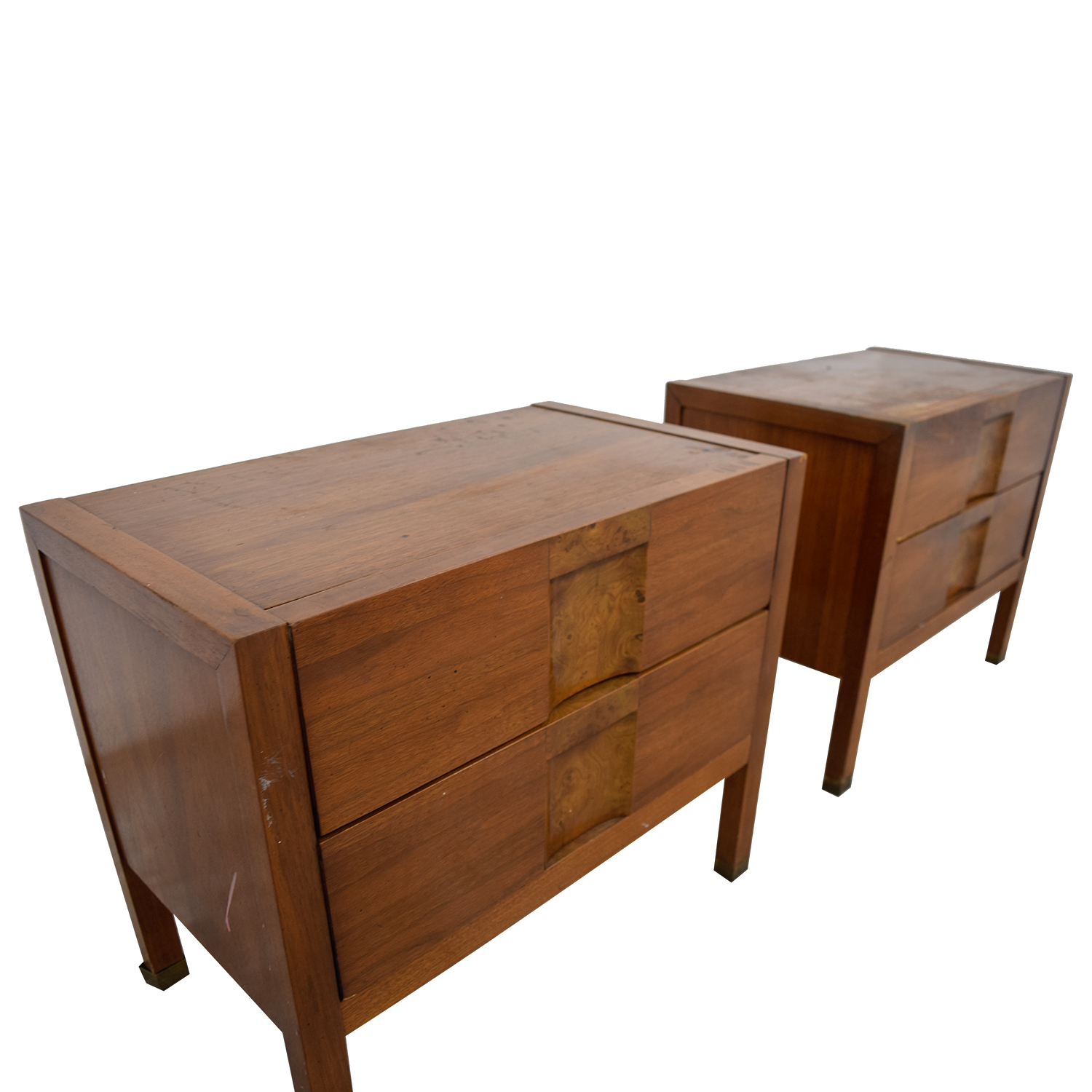 shop Two-Drawer Wood Nightables