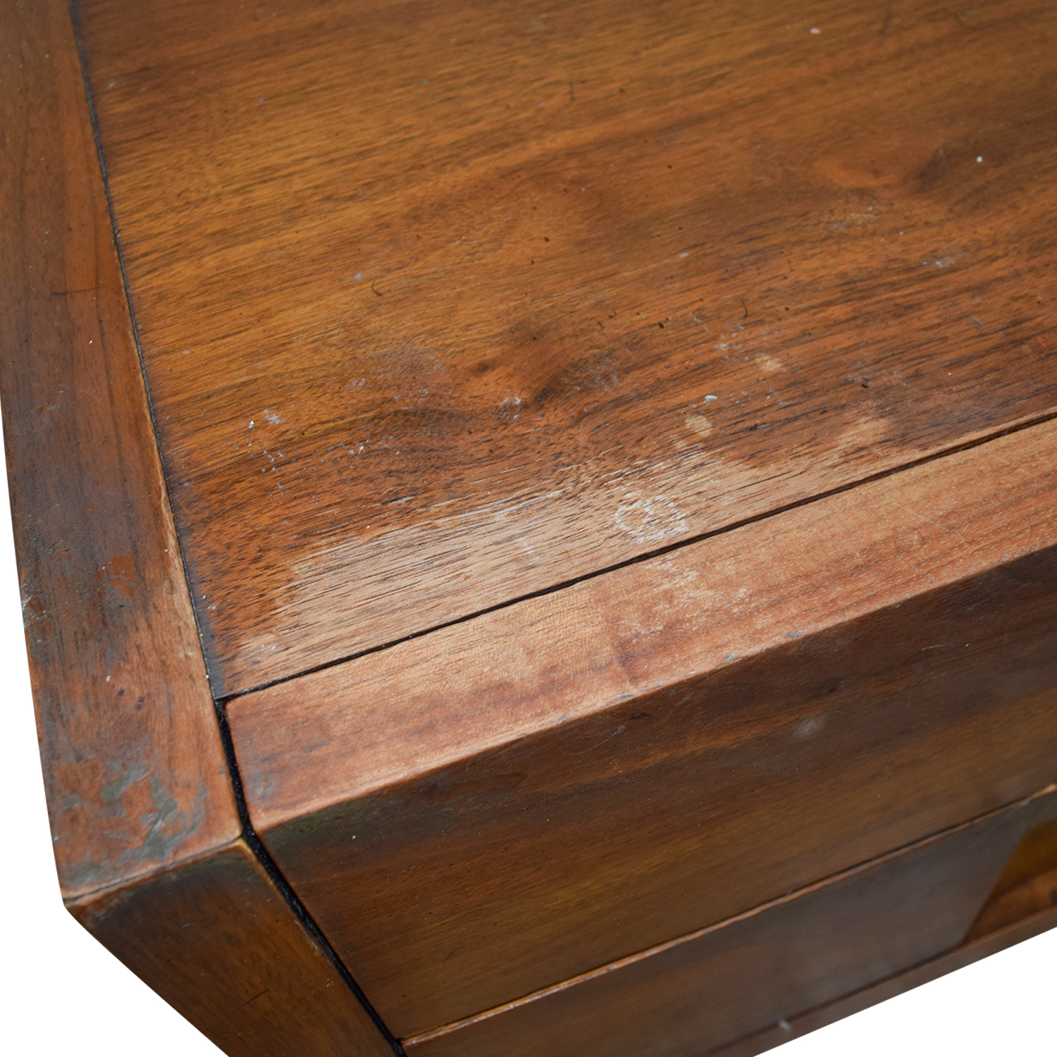 Two-Drawer Wood Nightables second hand