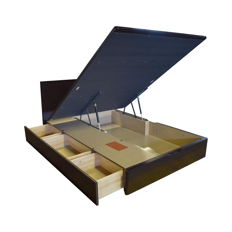 42 Off Full Size Lift Storage Platform Bed Beds