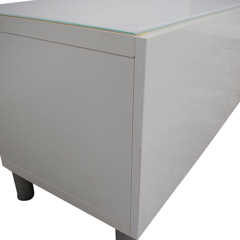 IKEA IKEA White TV Console Table / Storage