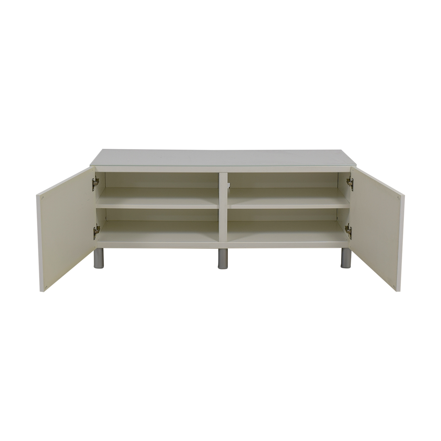 IKEA IKEA White TV Console Table price
