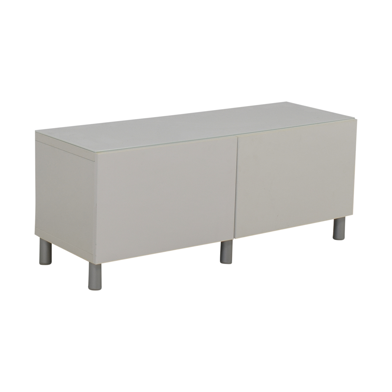 Ikea White Tv Console Table Used