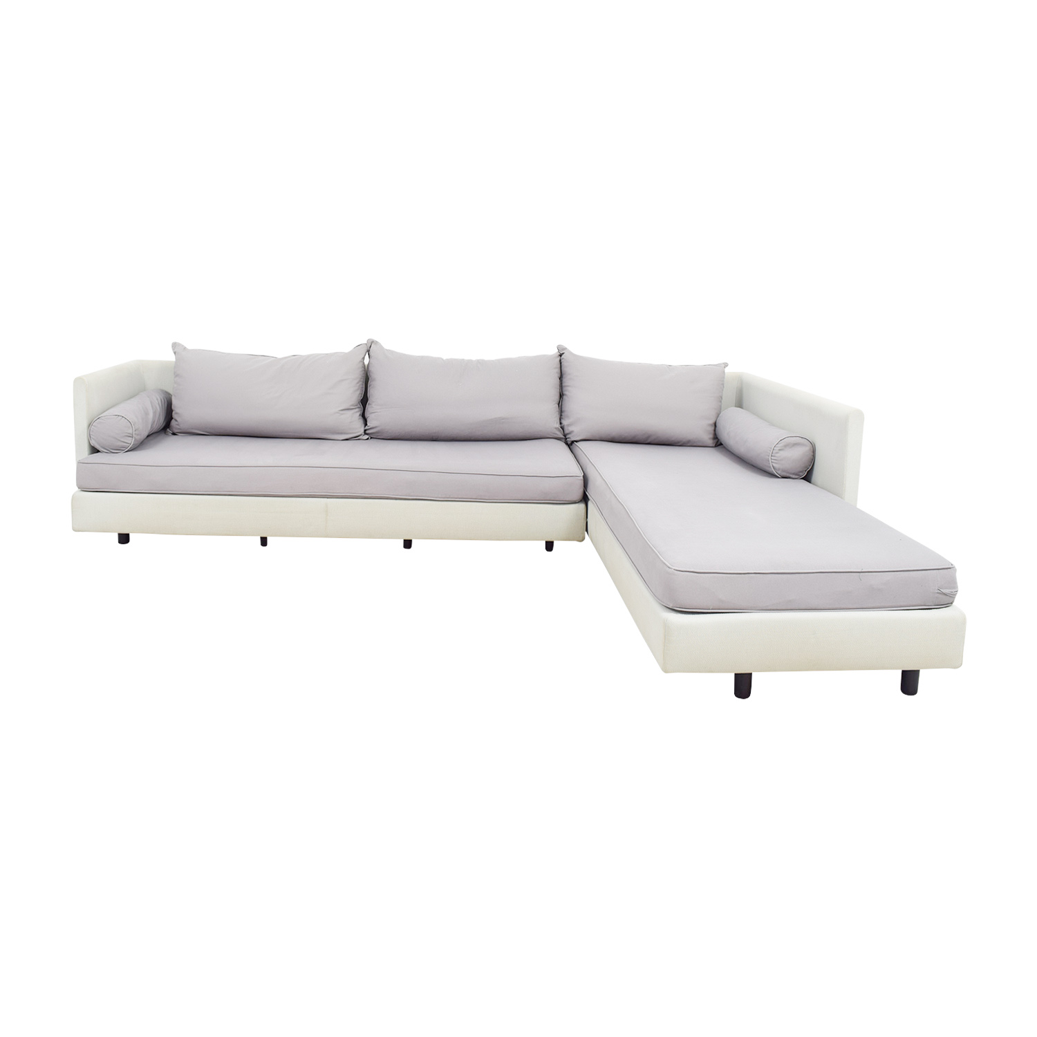 Ligne Roset Ligne Roset Nomad Beige Chaise Sofa on sale