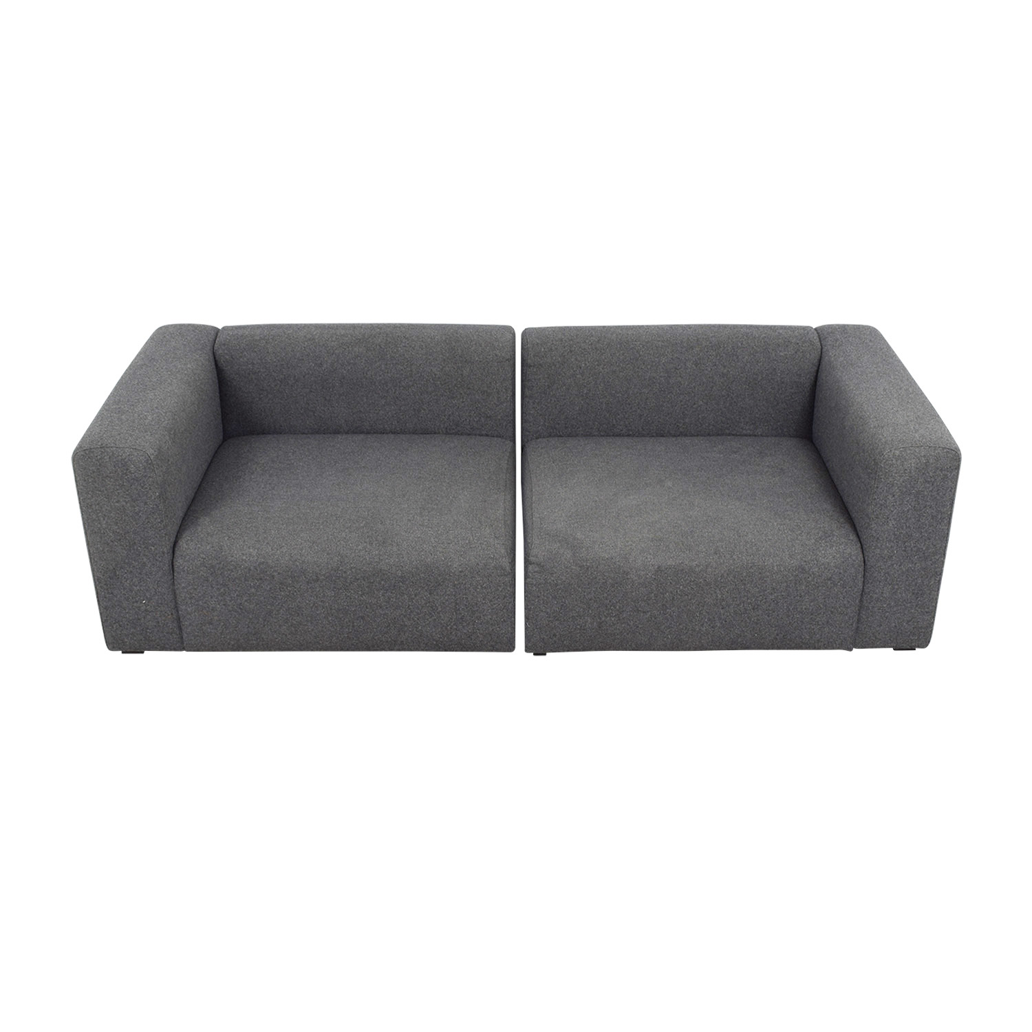Hay Hay Mags Modular Grey Sectional on sale
