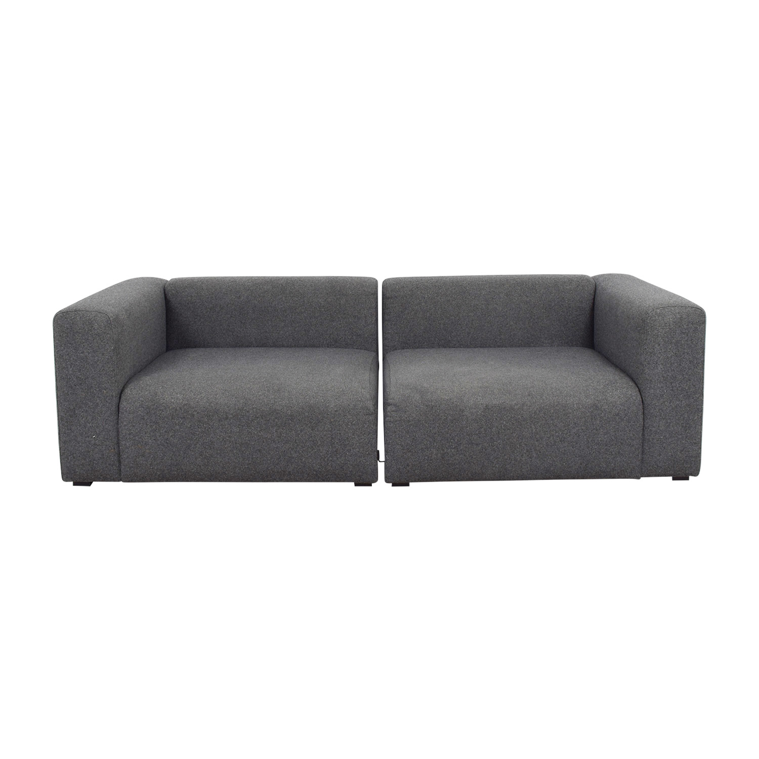 Hay Hay Mags Modular Grey Sectional second hand