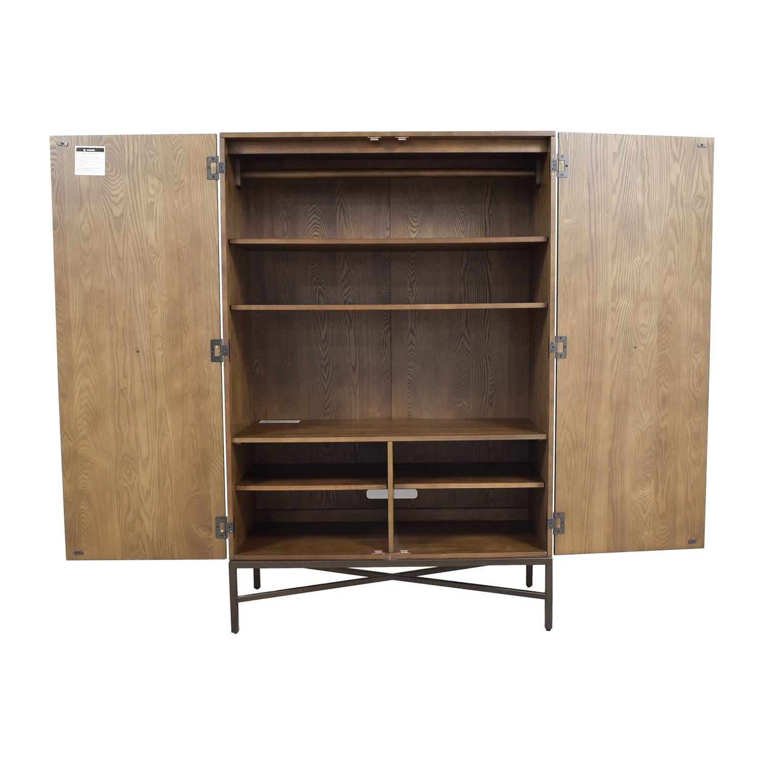 ... West Elm West Elm Paneled Armoire Nyc ...