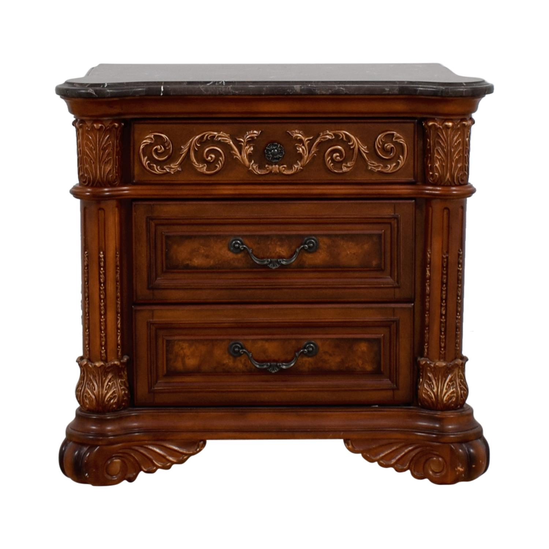 Huffman Koos Huffman Koos Buckingham Three-Drawer Wood Nightstand for sale