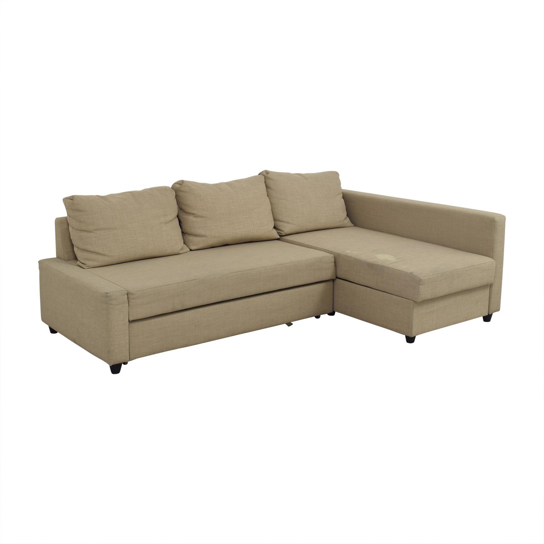 Ikea Lugnvik Sofa Bed Sleeper: Ikea Friheten Sectional Sofa Bed Sofas Comfy Sleeper Sofa