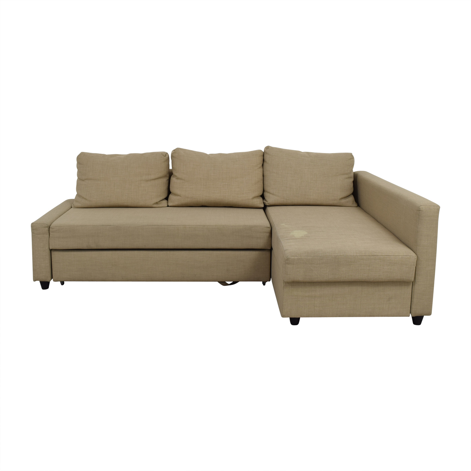 Ikea Friheten Tan Sleeper Sectional