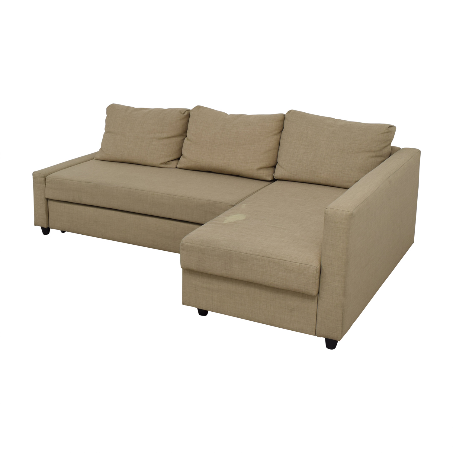 74 Off Ikea Ikea Friheten Tan Sleeper Sectional Sofas