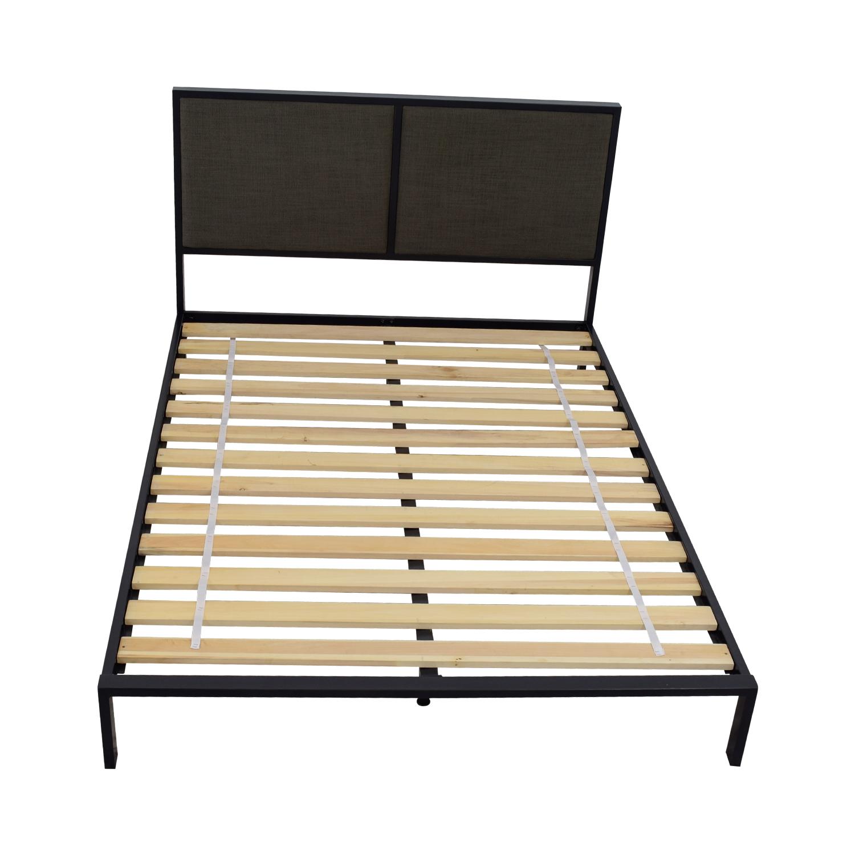 buy Crate & Barrel Crate & Barrel Oliver Platform Queen Bed Frame online