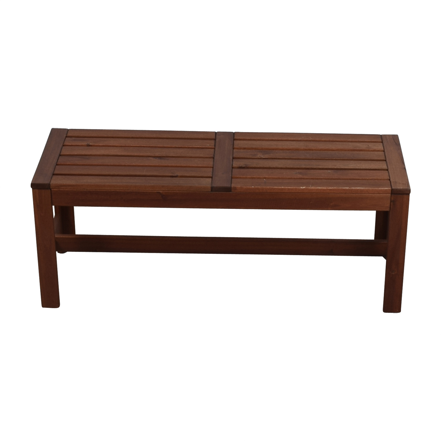 73 Off Downtown Furniture Wooden Bench Chairs
