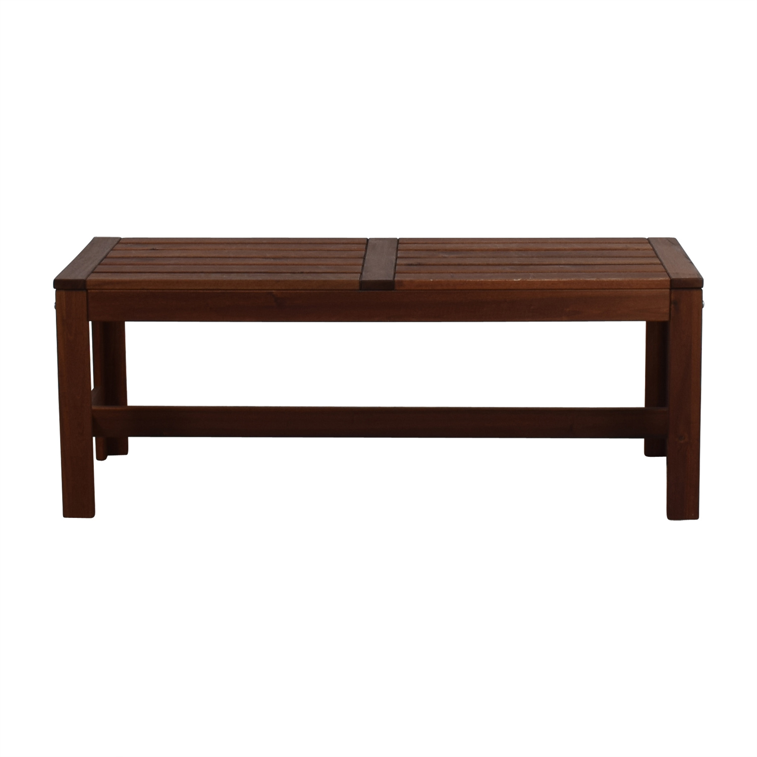 Downtown Furniture Downtown Furniture Wooden Bench used