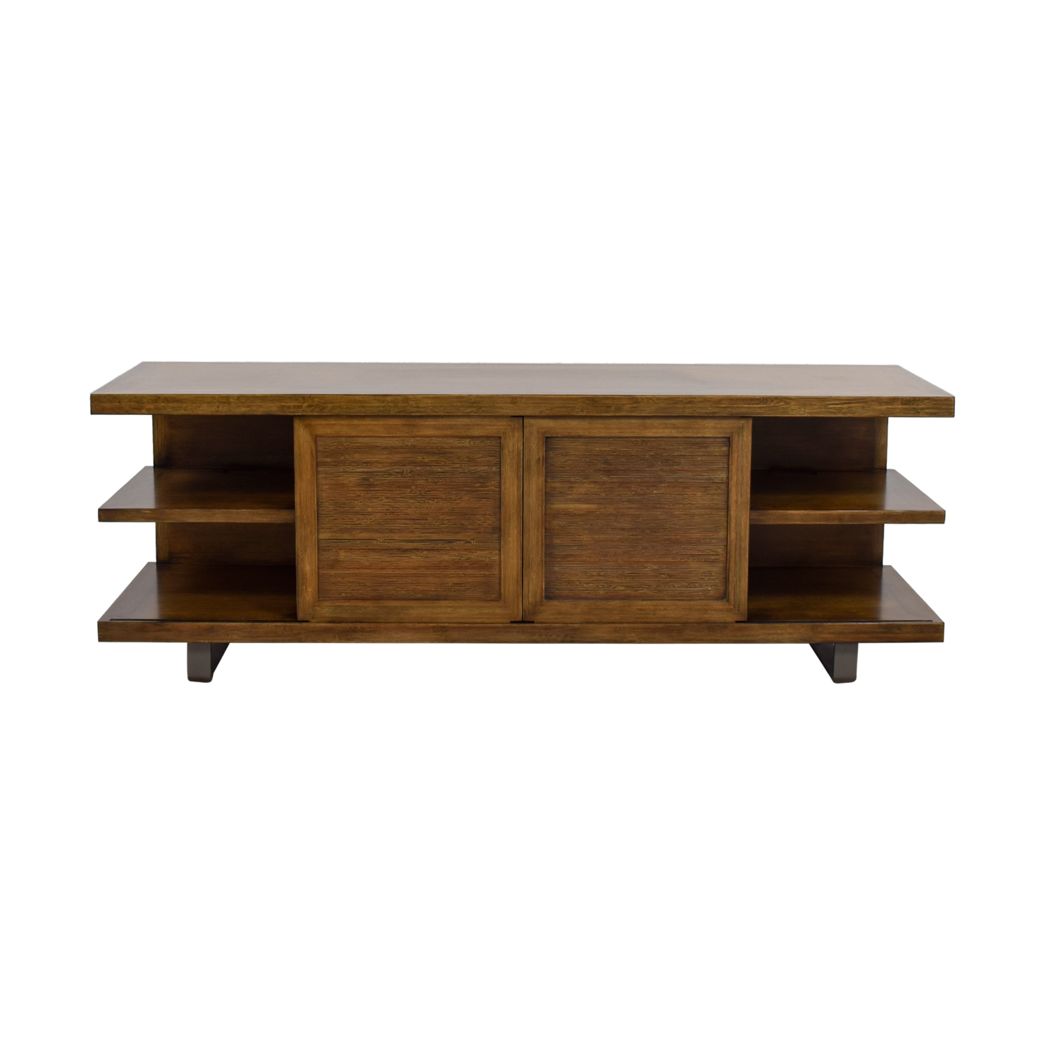 buy Pottery Barn Wood TV Console Pottery Barn
