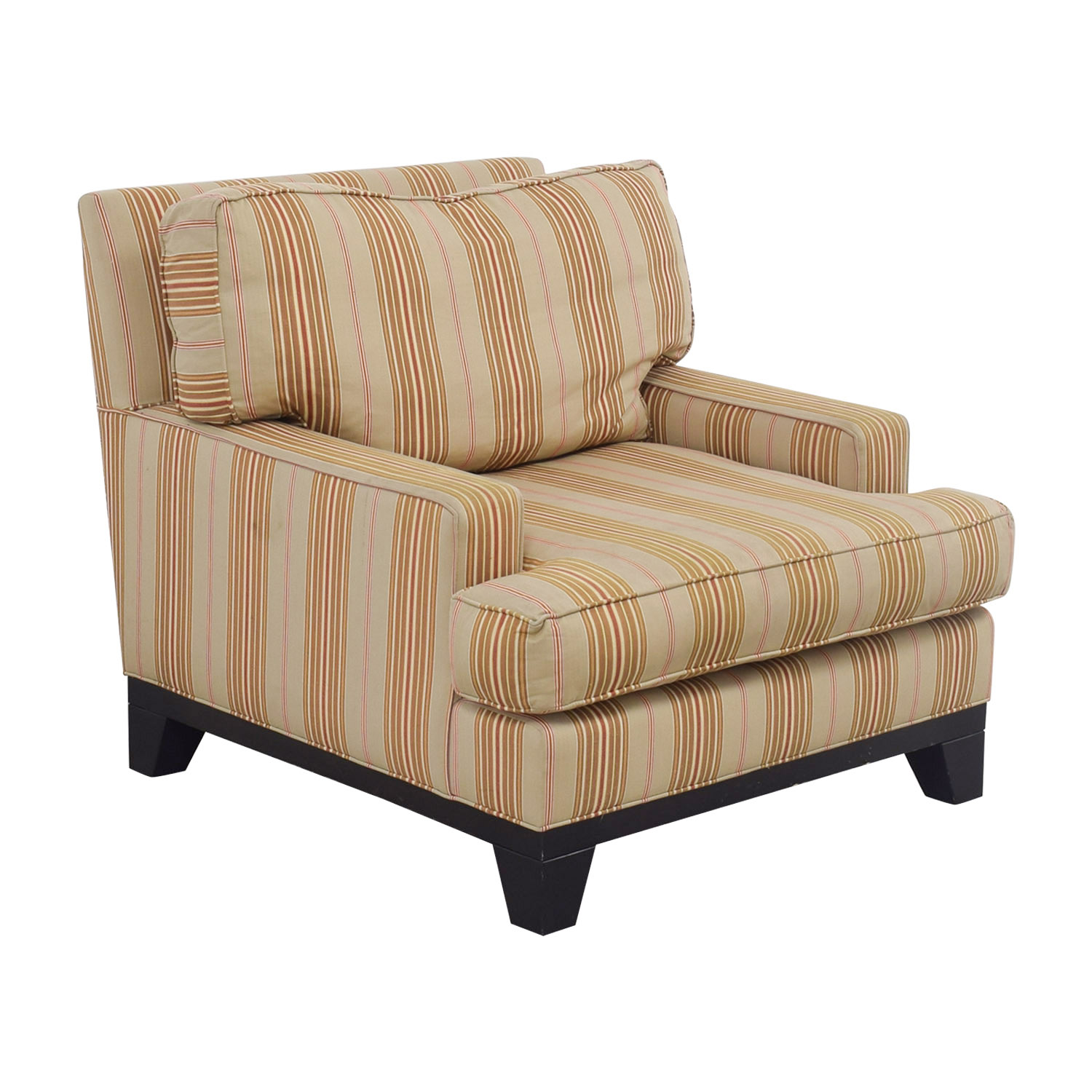 90 Off Ethan Allen Ethan Allen Beige Gold And Red