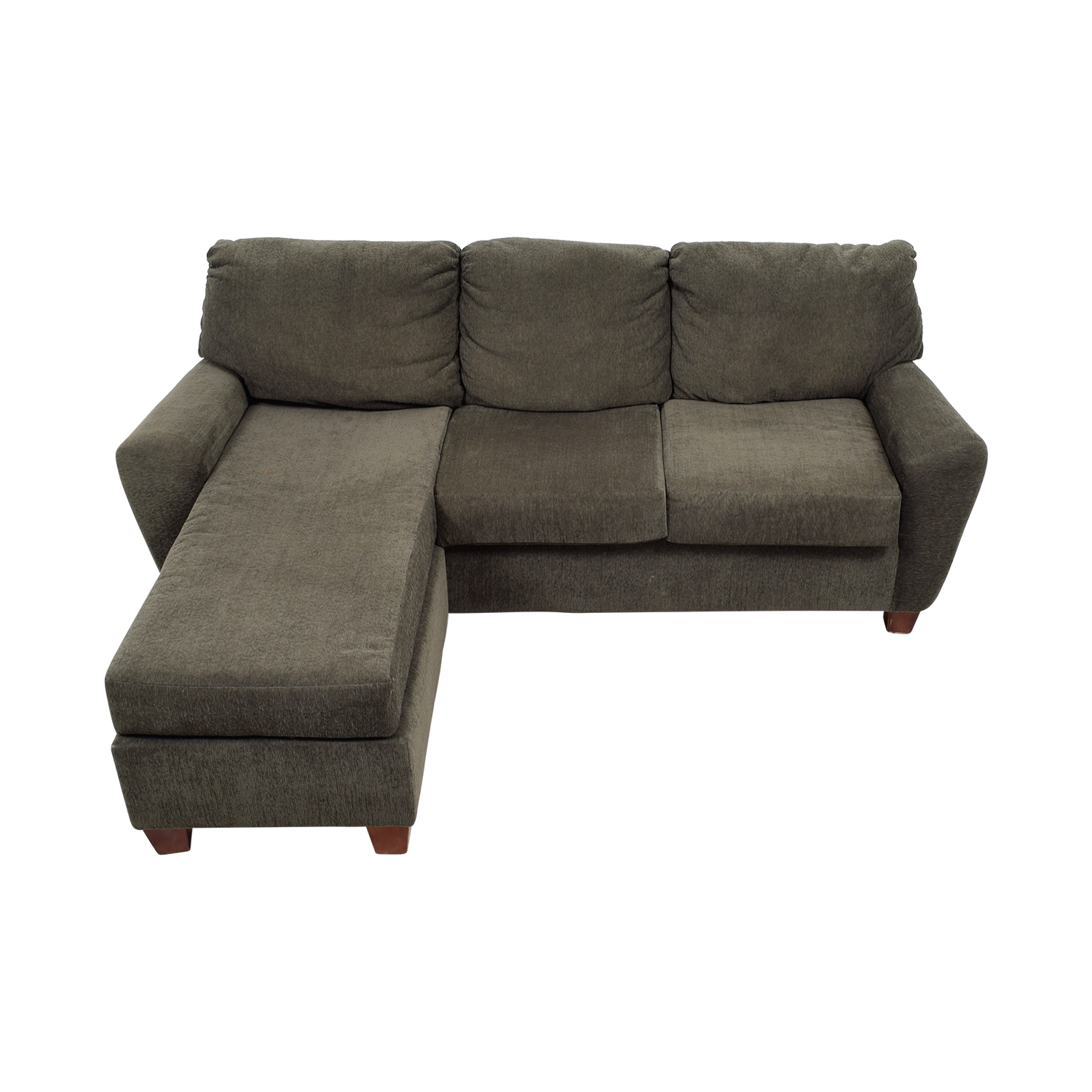 West Elm West Elm L-Shape Grey Sofa for sale