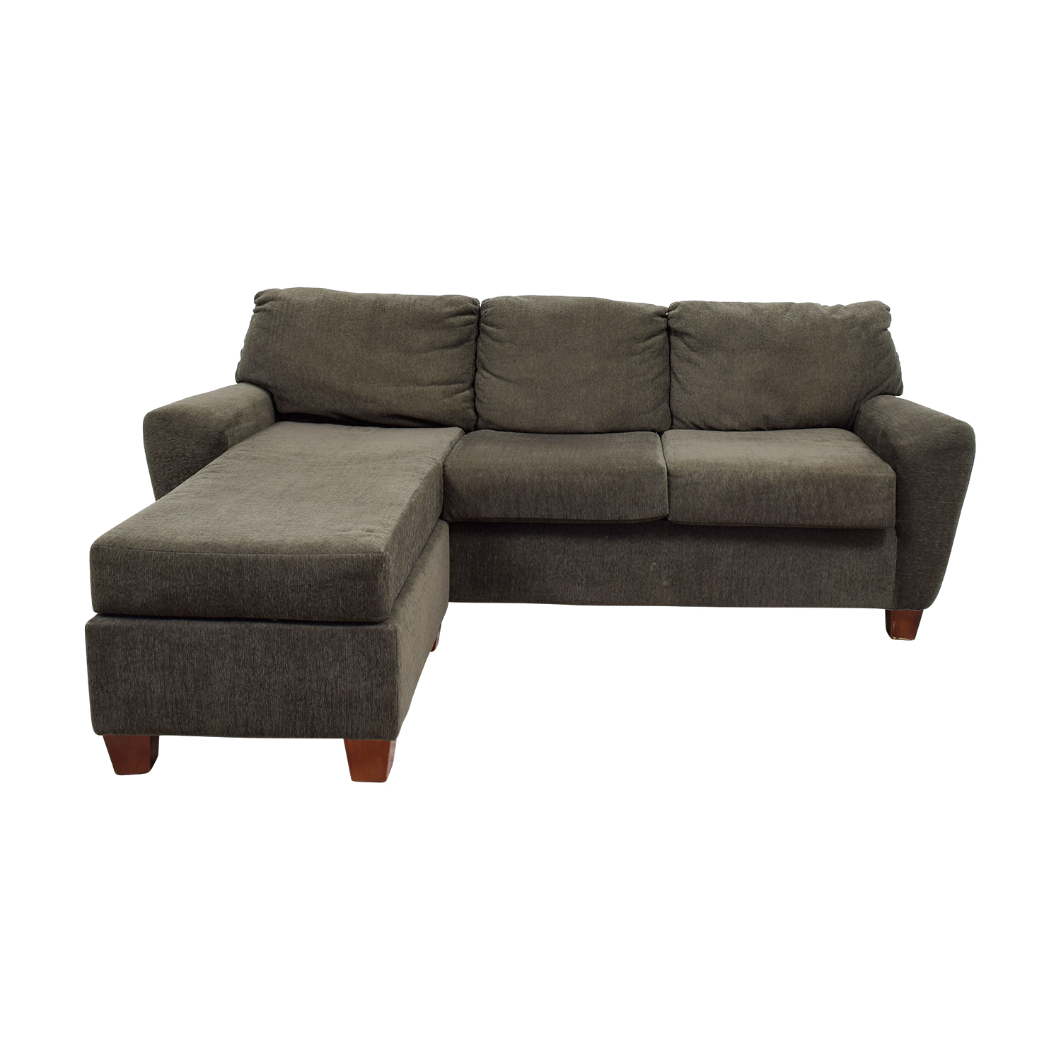 70 off west elm west elm l shape grey sofa sofas for Best west elm sofa