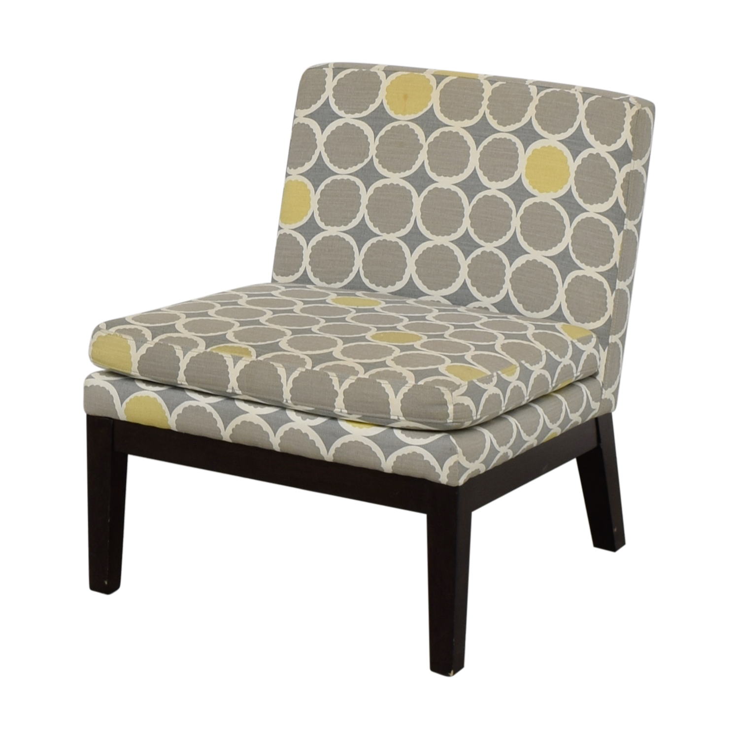 72 Off West Elm West Elm Grey Yellow And White Accent