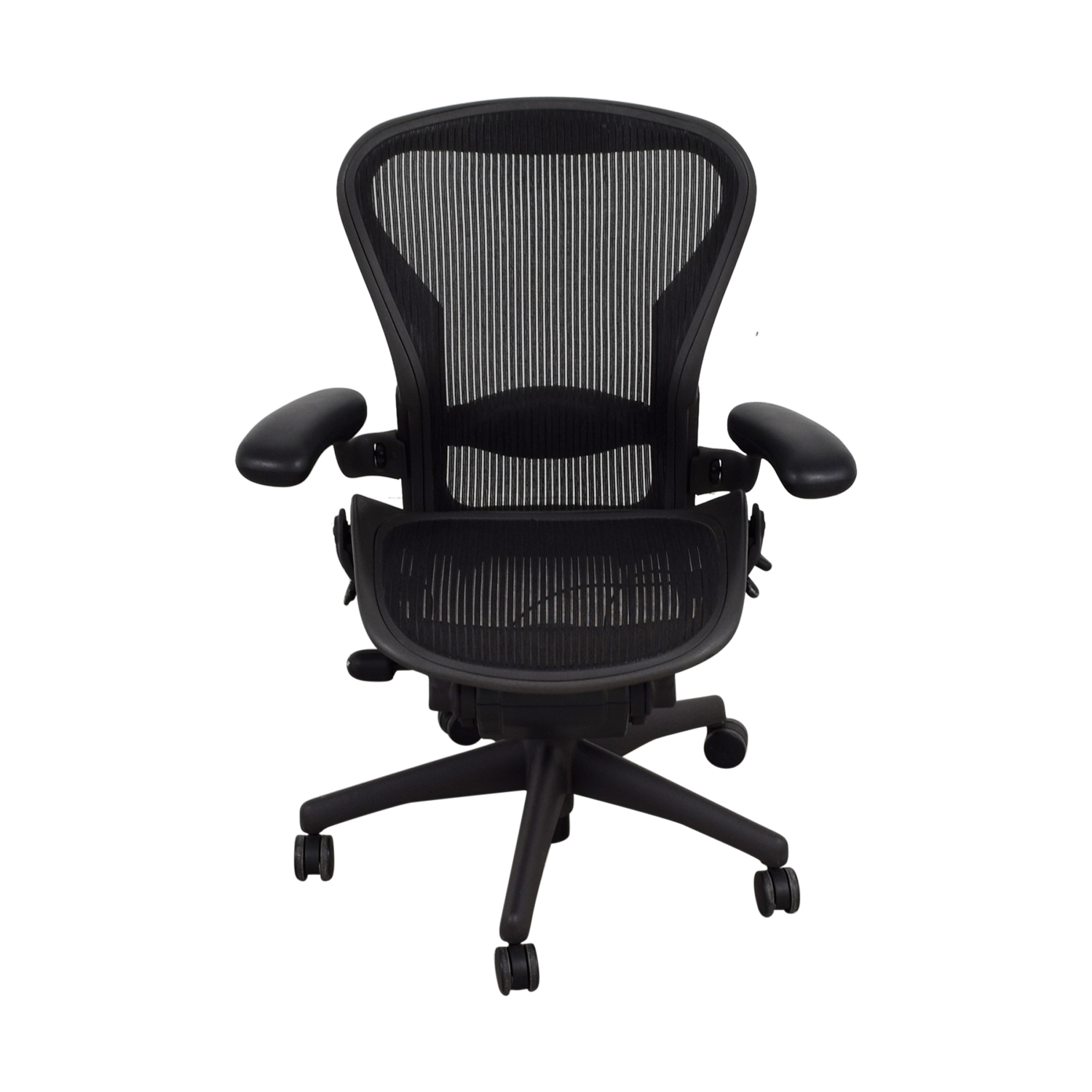 Herman Miller Herman Miller Aeron Black Chair nyc