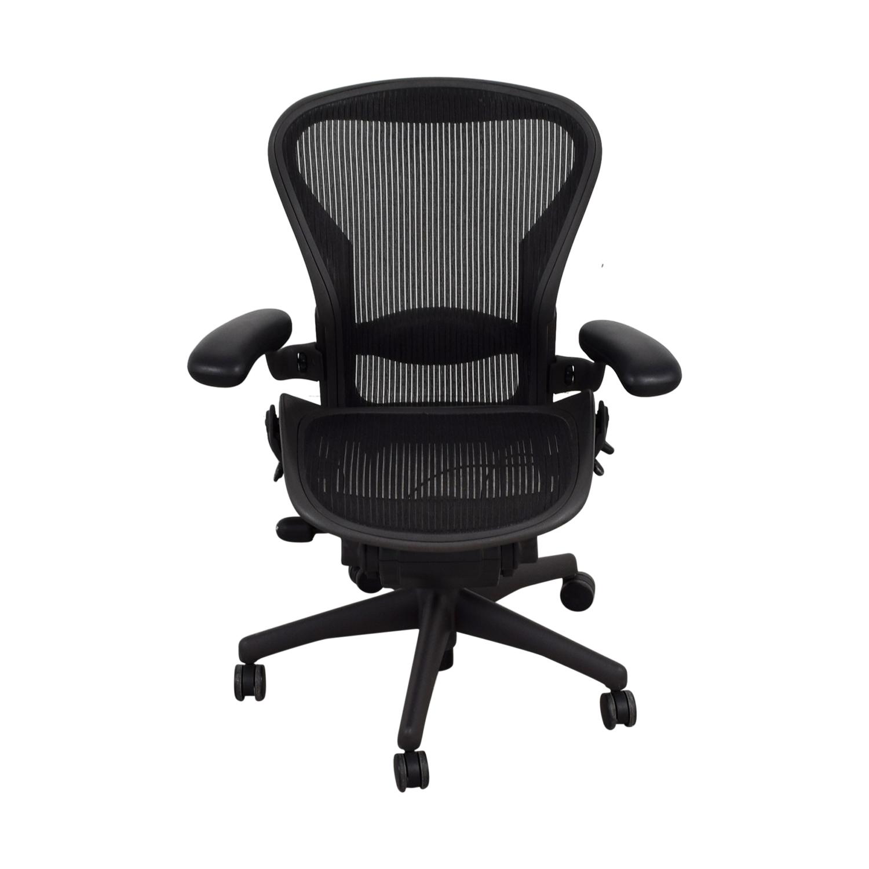 Herman Miller Herman Miller Aeron Black Chair nyc