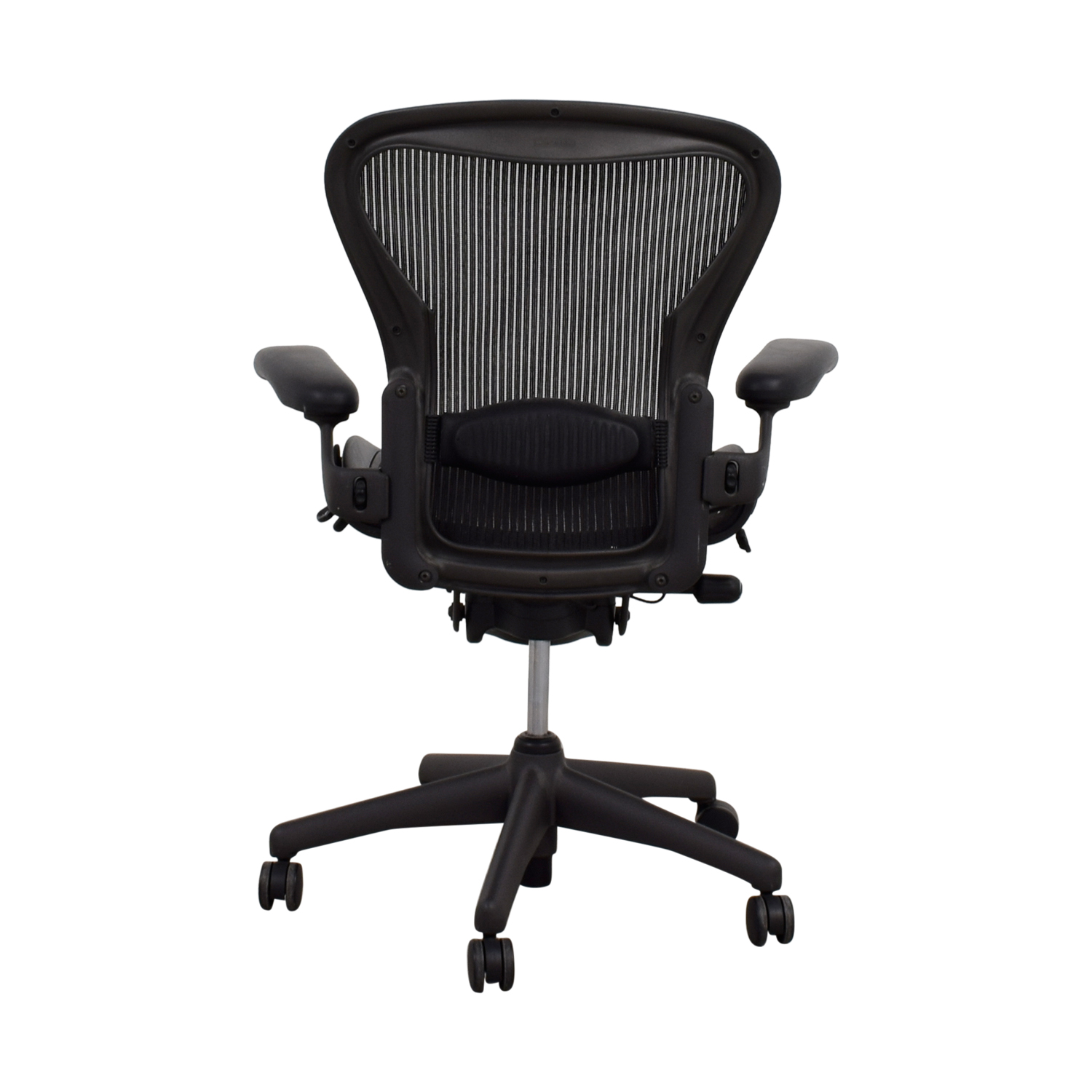 shop Herman Miller Aeron Black Chair Herman Miller