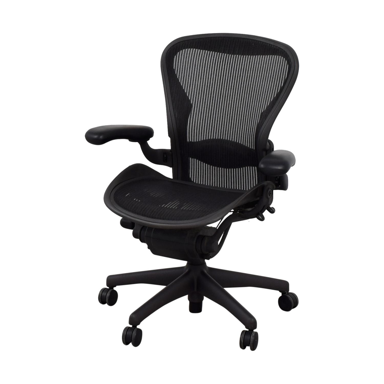 Herman Miller Herman Miller Aeron Black Chair Home Office Chairs