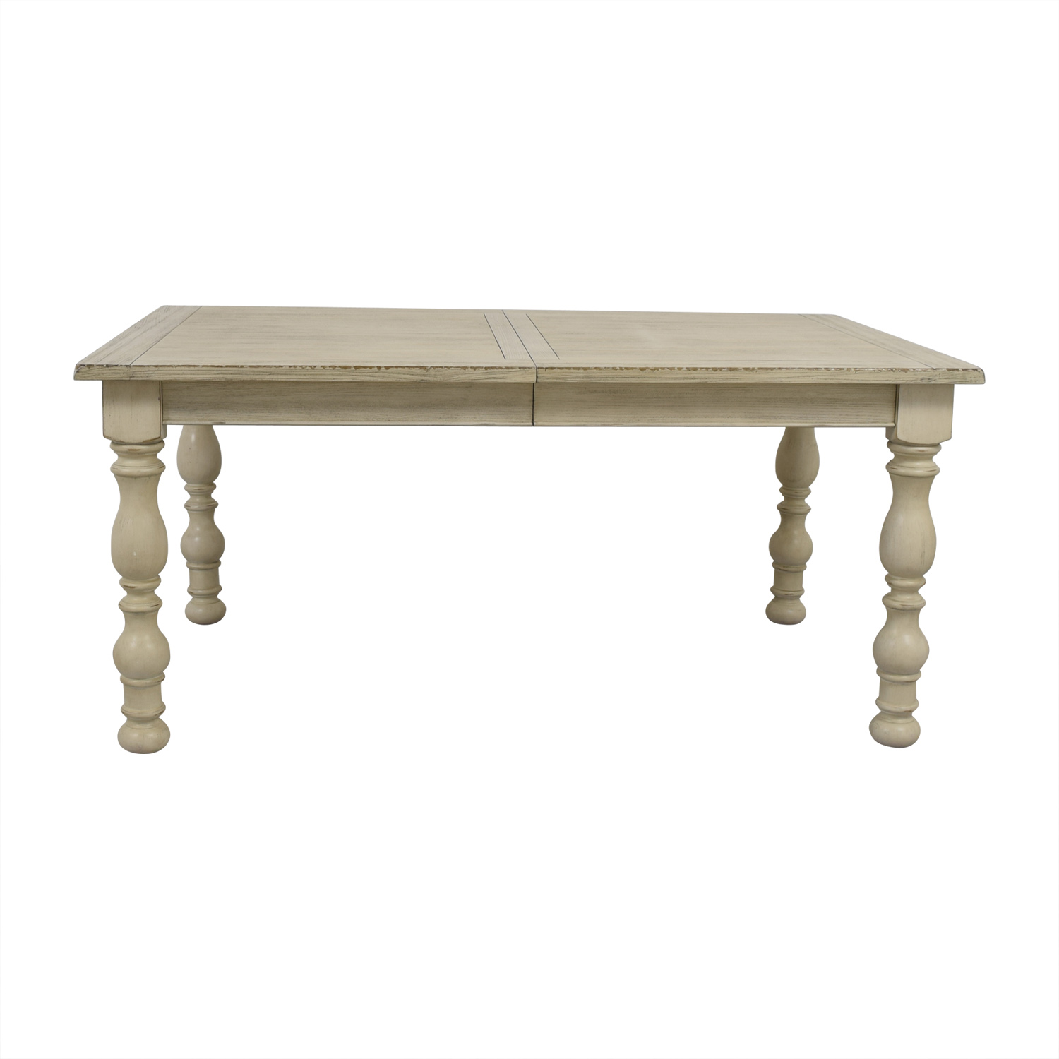 Raymour & Flanigan Dining Table with Extention Leaf / Sofas