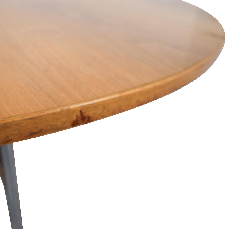... Herman Miller Herman Miller Nelson Round Swag Leg Dining Table  Dimensions ...