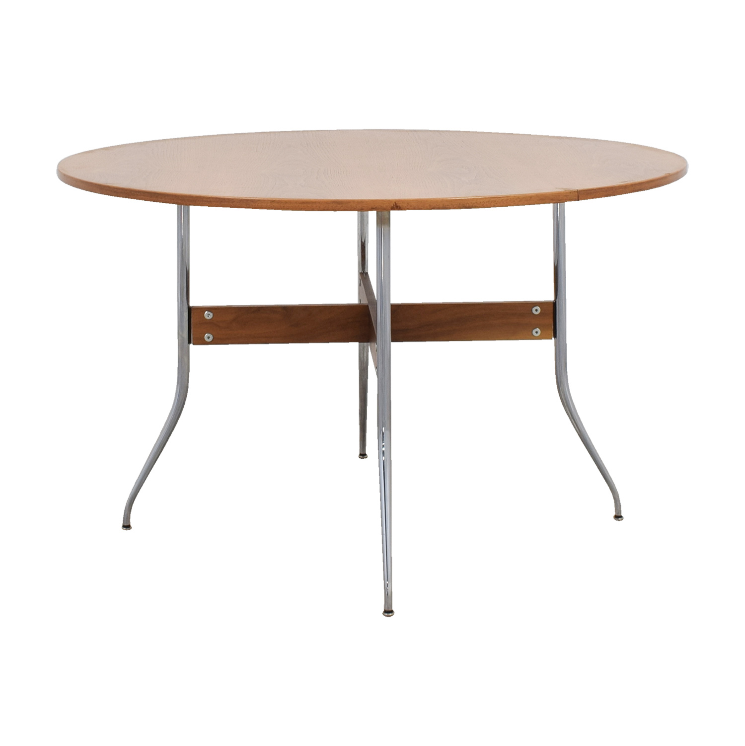 shop Herman Miller Herman Miller Nelson Round Swag Leg Dining Table online