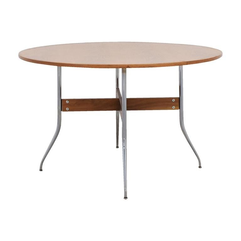 Herman Miller Herman Miller Nelson Round Swag Leg Dining Table discount